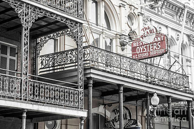Photograph - The Pearl Restarant In New Orleans by Frances Ann Hattier