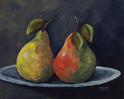 The Pears  Art Print by Torrie Smiley