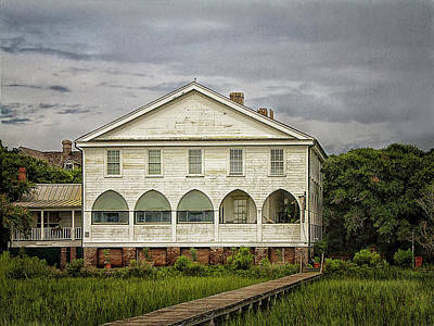 Photograph - The Pelican Inn With Boardwalkthe  by Sandra Anderson