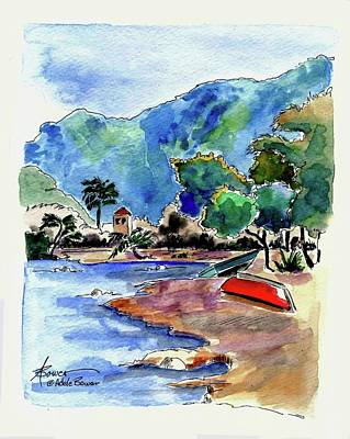 Painting - The Peloponnese by Adele Bower