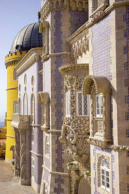 Photograph - The Pena Palace In Sintra - Perfect Portugal Souvenir by For Ninety One Days