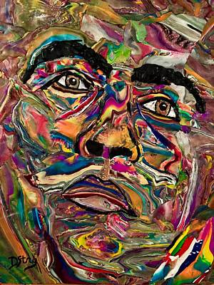 Mixed Media - The People's Champ by Deborah Stanley