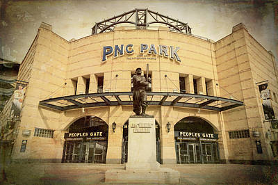 Roberto Photograph - The Peoples Gate - Pnc Park by Stephen Stookey