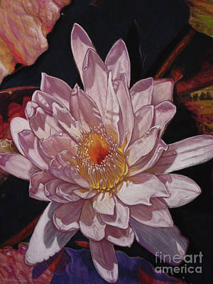The Perfect Lily Art Print by Melissa Tobia