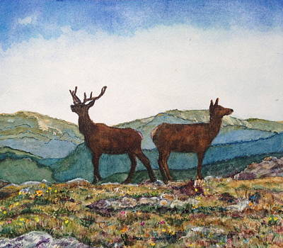 Painting - The Perfect Pair by Carol Warner