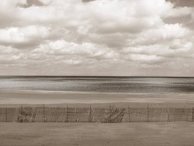 Beach Landscape Photograph - The Perfect Sky Is Torn by Dana DiPasquale