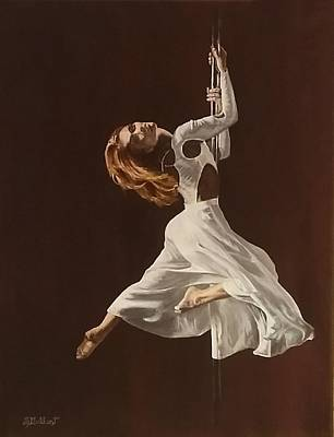 Painting - The Performance by Sheryl Gallant