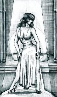 The Performer Art Print by Scarlett Royal