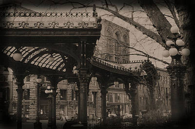 Photograph - The Pergola At Pioneer Square by Nadalyn Larsen