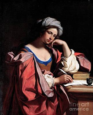Painting - The Persian Sibyl by Pg Reproductions