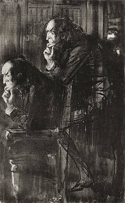 The Phantom. Hitherto The Light Art Print by Vintage Design Pics