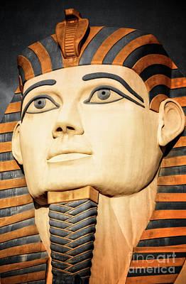 The Pharaoh Of Egypt Art Print by Charles Dobbs