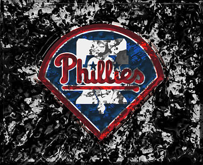 New York Mets Mixed Media - The Philadelphia Phillies 1a by Brian Reaves