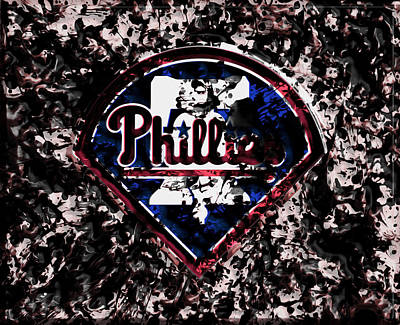 The Philadelphia Phillies Art Print by Brian Reaves