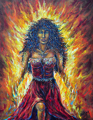 Painting - The Phoenix by Gail Butler