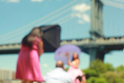 Photograph - The Photoshoot. Brooklyn Bridge Park, NYC by Keith Thomson