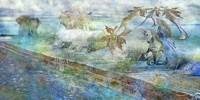 Surrealism Digital Art - The Piano  by Betsy Knapp