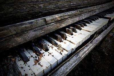 Photograph - The Piano by CA  Johnson
