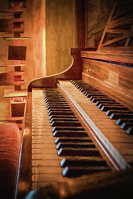 Photograph - The Organ by Susan Rissi Tregoning