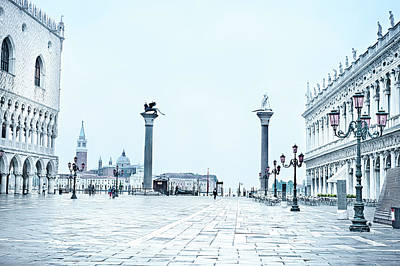 Photograph - The Piazetta, Venice by Jean Gill