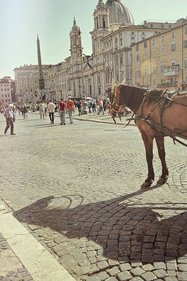 Photograph - The Piazza Navona by JAMART Photography