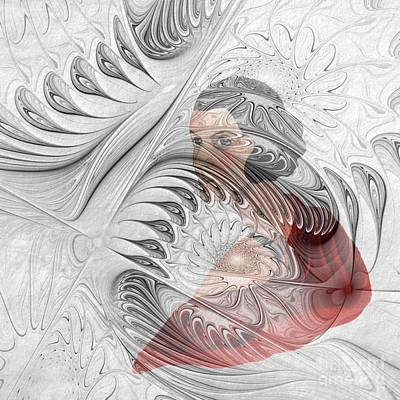Fractal Digital Art - The Picture Behind The Fractal -12- by Issabild -