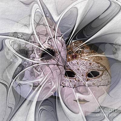 The Picture Behind The Fractal -17- Art Print by Issabild -