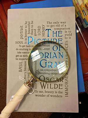 The Of Dorian Gray Photograph - The Picture Of Dorian Gray by Denise Mazzocco