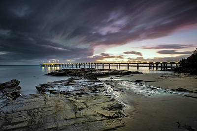 Photograph - The Pier @ Lorne by Mark Lucey