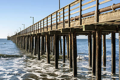 Painting - The Pier At Avila Beach California by Barbara Snyder