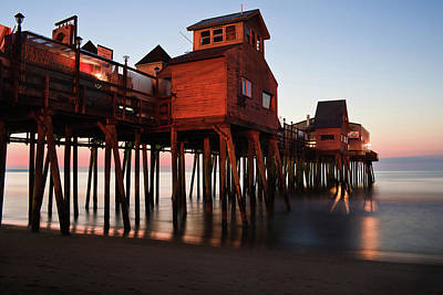 Photograph - The Pier At Old Orchard Beach by Ed Fletcher