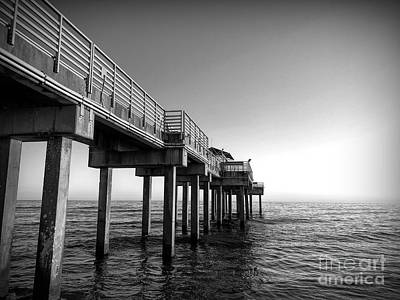 Photograph - The Pier At Orange Beach by Luther Fine Art