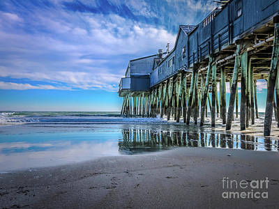 Photograph - The Pier by Claudia M Photography