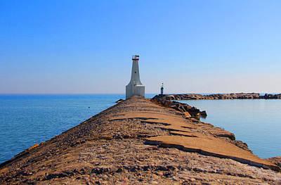 Photograph - The Pier by Davandra Cribbie