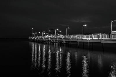 Photograph - The Pier In Pomorie by Plamen Petkov