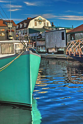 The Pier Art Print by Joann Vitali