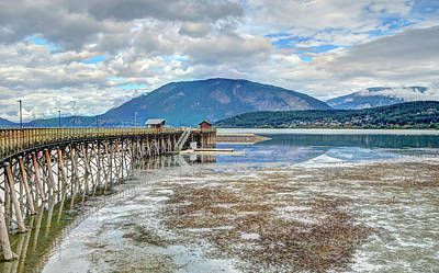 Photograph - The Pier by Keith Armstrong