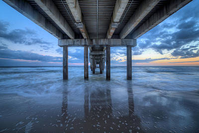 Photograph - The Pier On Orange Beach by JC Findley