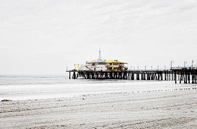 Photograph - The Pier - Overexposed by Gene Parks