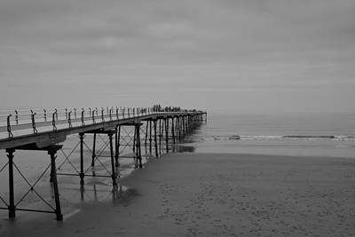 Stephen White Photograph - The Pier by Stephen White