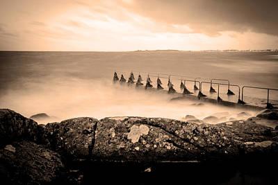 Sweden Digital Art - The Pier by Tommytechno Sweden