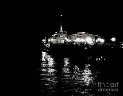 Print featuring the photograph The Pier by Vanessa Palomino