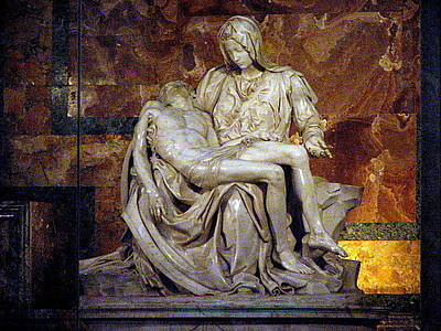 Photograph - The Pieta by T Guy Spencer