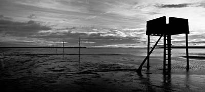 Wooden Platform Photograph - The Pilgrims Refuge by Max Blinkhorn