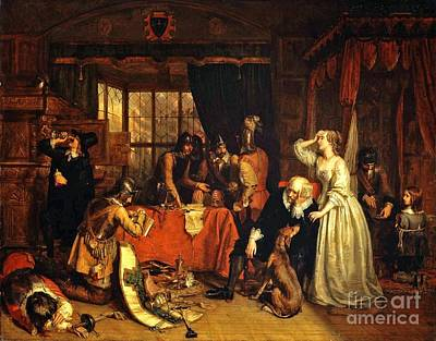 Landseer Painting - The Pillaging Of A Jew's House In The Reign Of Richard I by MotionAge Designs