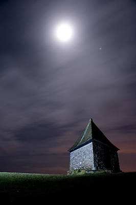 Photograph - Pimple Moon by Helen Northcott