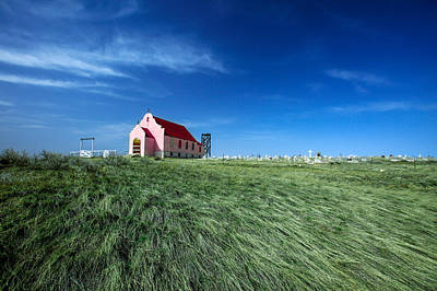 Photograph - The Pink Church by Todd Klassy