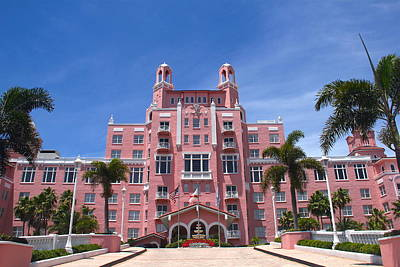 Photograph - The Pink Hotel by Denise Mazzocco