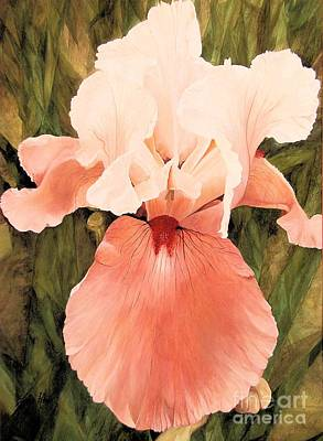 Painting - The Pink Lady  by Laurie Rohner