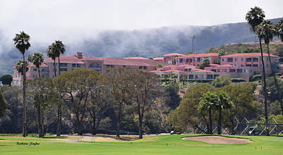 Photograph - The Pink Palace Avila Beach  by Barbara Snyder